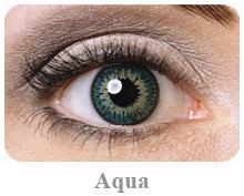 Lentile de contact Expressions Colors , culoare aqua
