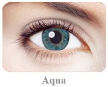 Lentile de contact Expressions Accents, culoare aqua