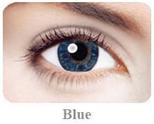 Lentile de contact Expressions Accents, culoare blue