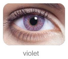 Lentile de contact FreshLook Colors, culoare violet