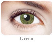 Lentile de contact Expressions Accents, culoare green