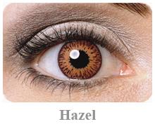 Lentile de contact Expressions Colors, culoare hazel