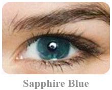 Lentile de contact Acuvue 2 Colours Opac, culoare sapphire blue